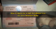How to Apply for UAE Residence Visa for Newborn Child