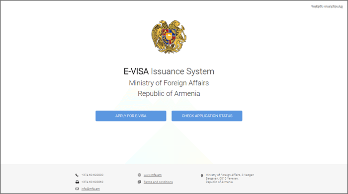 armenia-evisa-application-process