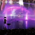 IMAGINE: Water, Fire and Light Show at Dubai Festival City Bay