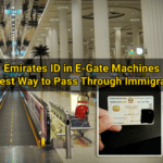 E-gate Service: Use Your Emirates ID When Leaving/Entering UAE at Dubai Terminal 3