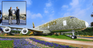 emirates-a380-plane-dubai-miracle-garden-guinness-book-world-records