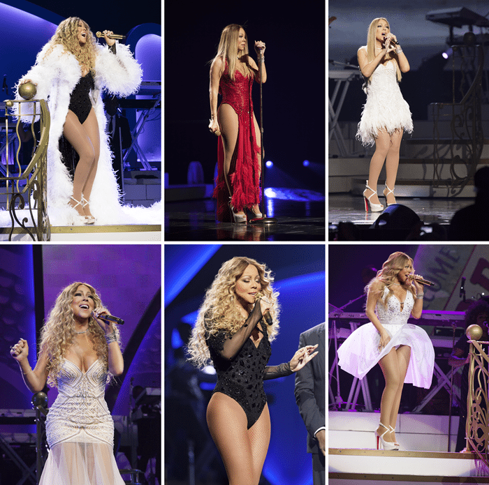 mariah carey concert dubai jazz festival photo