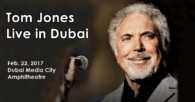 Sir Tom Jones Live in Dubai on 22 Feb. 2017 for Dubai Jazz Festival