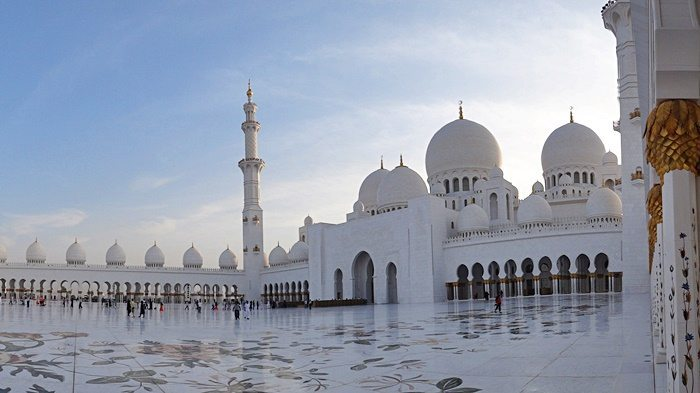 sheikh zayed grand mosque abu dhabi photo