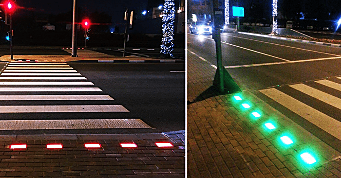 Rta Tests Sensor Based Pedestrian Signal For Crossing The