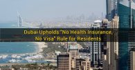 No Health Insurance, No Residence Visa