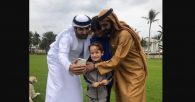 Sheikh Mohammad and Family Spend Quality Time Outdoors