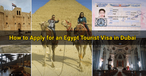 egypt tourist visa application dubai