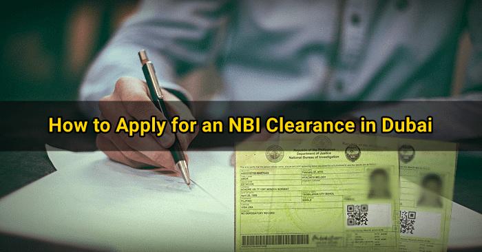 nbi clearance application dubai