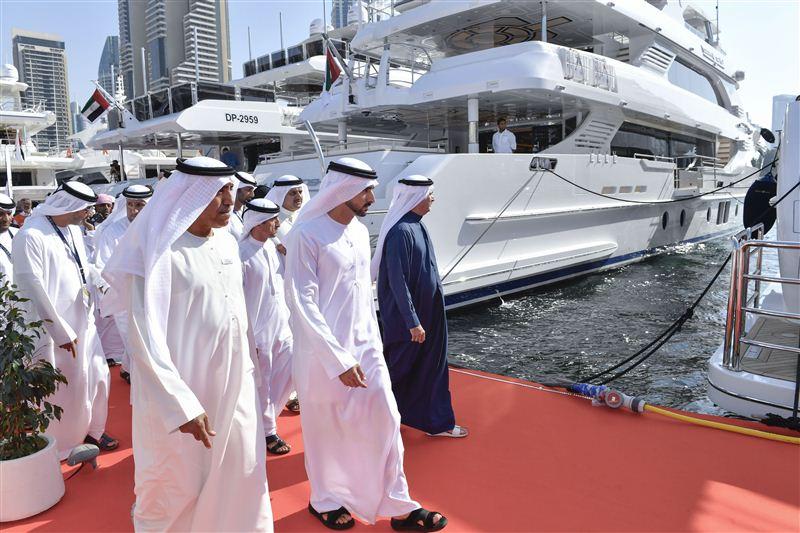 boat show dubai hamdan