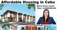 Affordable Housing Properties for Sale in Cebu
