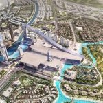 Bird's-eye-view of Meydan One Mall and its facilities Image Credit: wam.ae