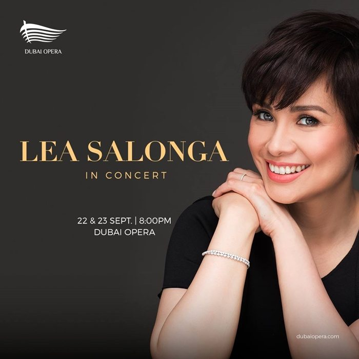 lea salonga in dubai photo