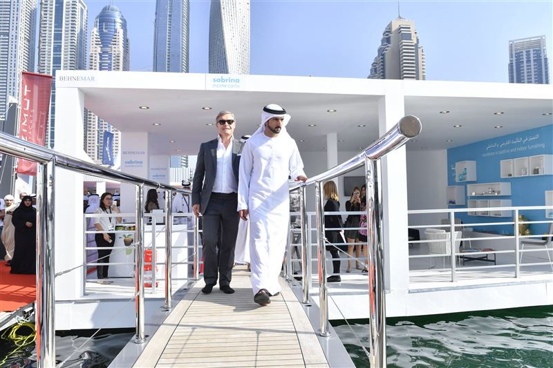 prince of dubai international boat show