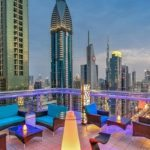 A spectacular view of the Dubai skyline from Level 43 Sky Lounge. Image Credit: Level 43 Sky Lounge FB Page