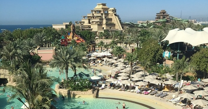Aquaventure Water Park in Palm Jumeirah