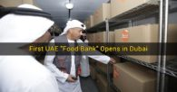 "First UAE ""Food Bank"" Opens in Dubai"