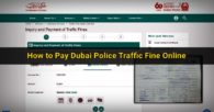 How to Pay Your Dubai Police Traffic Fine Online