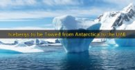 Icebergs to be Towed from Antarctica to the UAE