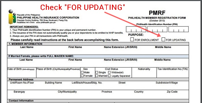 Universal Life Insurance >> How to Update Your PhilHealth Membership Data Record (MDR) Online | Dubai OFW