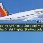 Philippine Airlines to Suspend Manila – Abu Dhabi Flights Starting July 8