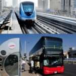 The number of people riding the Dubai Metro and public buses has increased this year. Image Credit: RTA FB Page