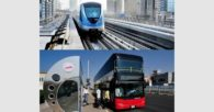 RTA: Dubai Metro and Public Bus Riders Increase in 1st Quarter of 2017