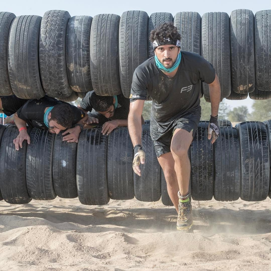 Sheikh Hamdan Obstacle Course Complete