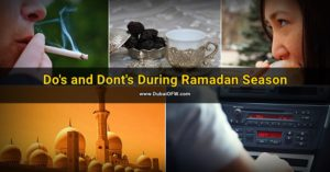 ramadan dos and donts