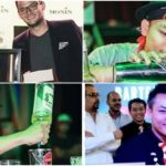 Apple is an award-winning flair bartender based in Dubai.