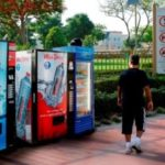 Ramadan fridges have been installed in parks across Dubai. Image Credit; WAM News Agency