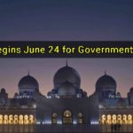 Eid Al Fitr Begins June 24 for Government Employees