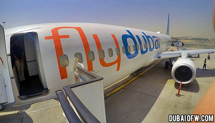 dubai to tbilisi flydubai flight