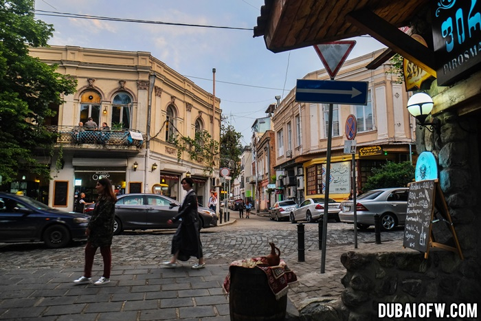 streets in tbilisi
