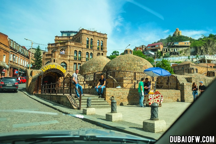 tbilisi sulfur bath house