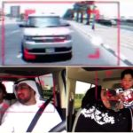Screenshots from the video posted by @DubaiPoliceHQ on Twitter