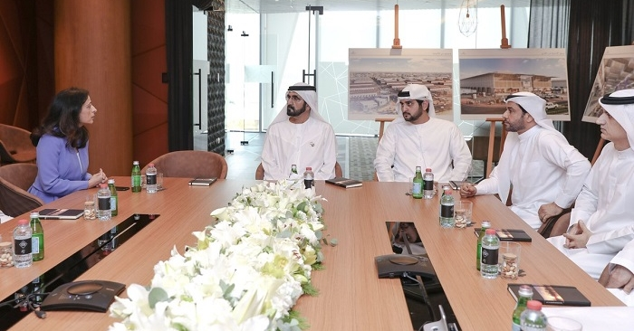 HH Sheikh Mohammed launches the Dubai Food Park