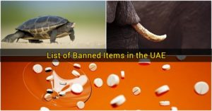 List of Banned Items in the UAE