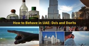 how to behave uae dos and donts