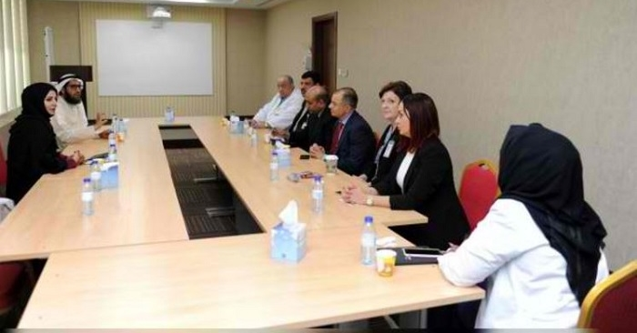 DHA officials discuss the new project