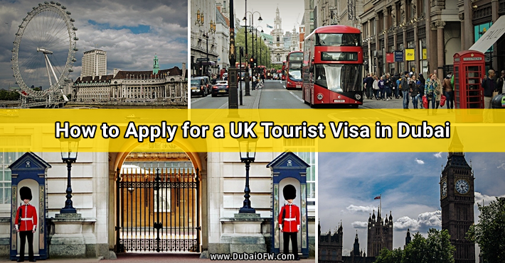uk tourist visa dubai
