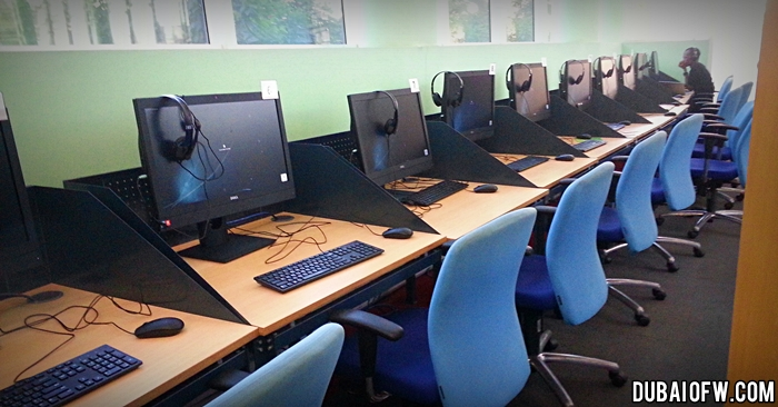 computer stations dubai library