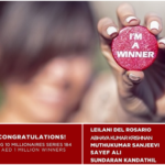8 Indians, 1 Filipina, & 1 Canadian Win 1 Million AED Each in Big Ticket Raffle