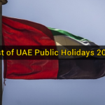 List of UAE Public Holidays 2018