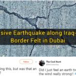 Massive Earthquake along Iraq-Iran Border Felt in Dubai