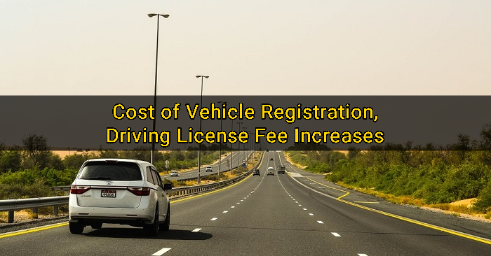 How Much Car Registration Cost In Dubai