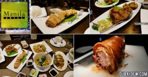 Manila Grill pinoy food dubai