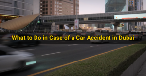 car accident tips dubai