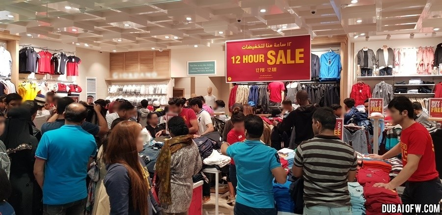 flash sale dubai shopping