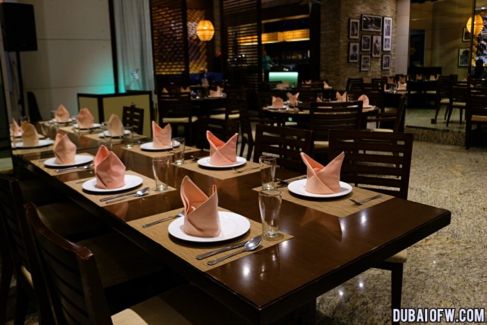 manila grill restaurant photo dubai